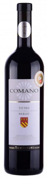 Comano Riserva Ticino DOC 2015, GoldMedal, Decanter 2018