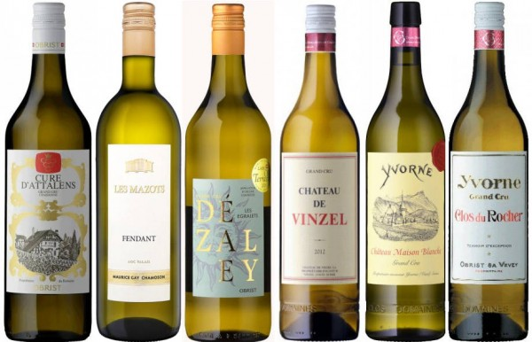 Gold Medal Sampler for the Mondial du Chasselas 2018