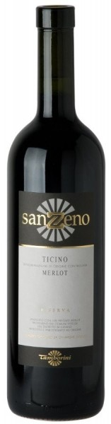 San Zeno Riserva, Merlot del Ticino Doc, 2016